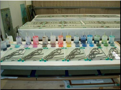Rodzaje i kolory farb żywicznych